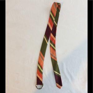J Crew silk belt